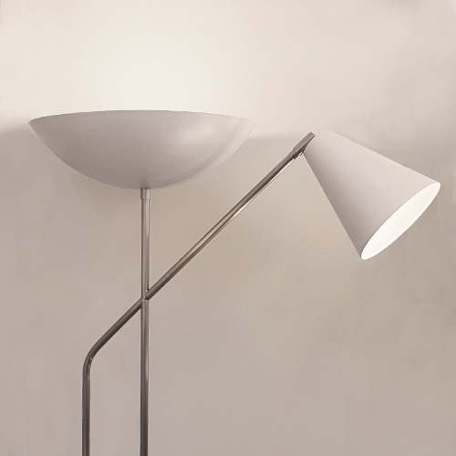 up&down floor lamp (white chrome ver.)